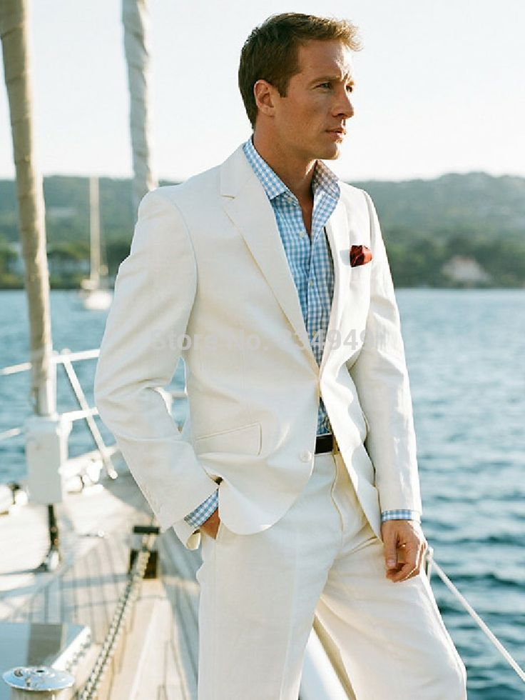 How to get the summer time suits: linen suits for men