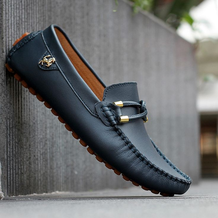 The comfort of loafers for men