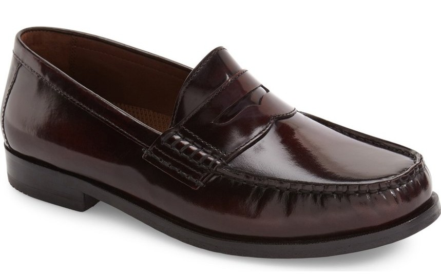 loafers for men classic-penny-loafer-for-men-burgundy-leather-2016- TGEHVGM