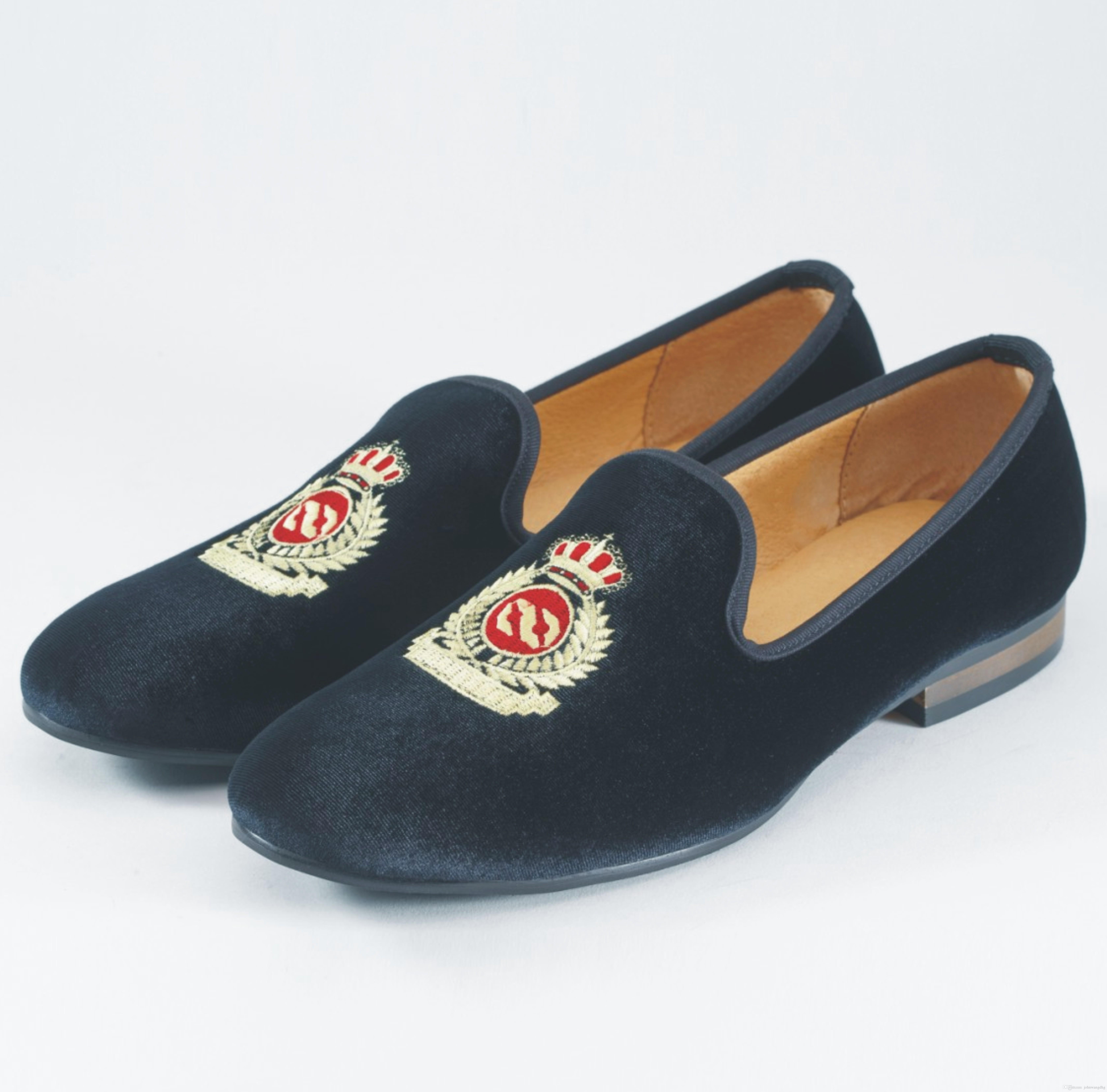loafers for men fashion men loafers slip on mens velvet shoes casual velvet slippers  british dress shoes SPXVVHK