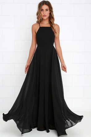 long black dress mythical kind of love black maxi dress MRRQHON