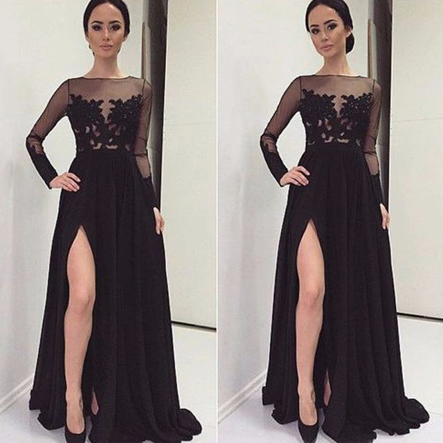 long black dress new arrival long black prom dresses XQUDYHQ