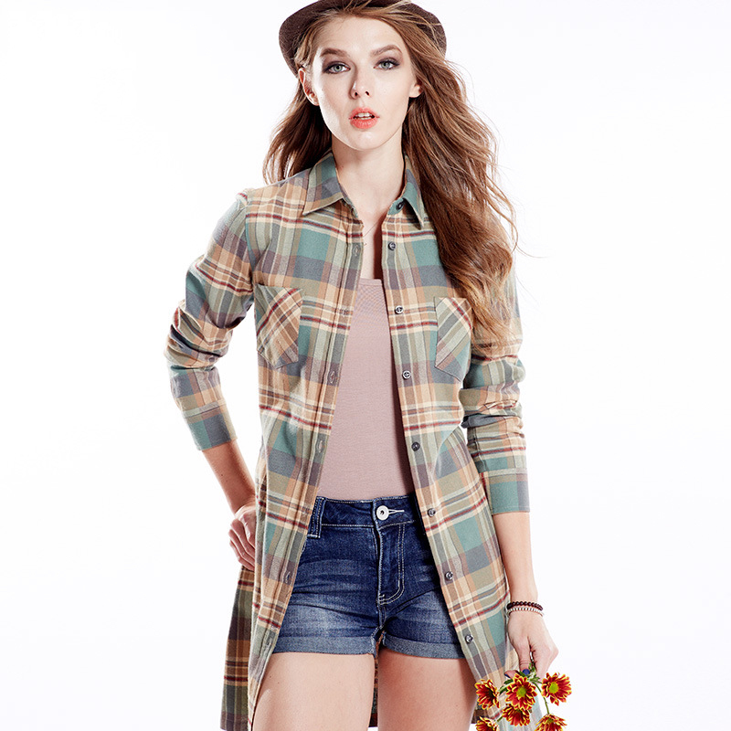 Look great with longs shirts for women