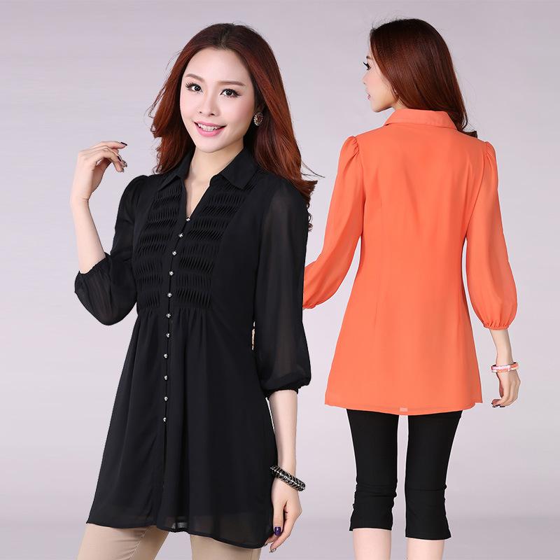 long shirts for women long shirt blouses - peach chevron blouse ROPLVTJ