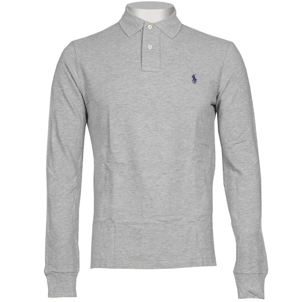 long sleeve polo shirts wpid-ralph-lauren-long-sleeve-custom-fit-polo- ... RTFDPKN