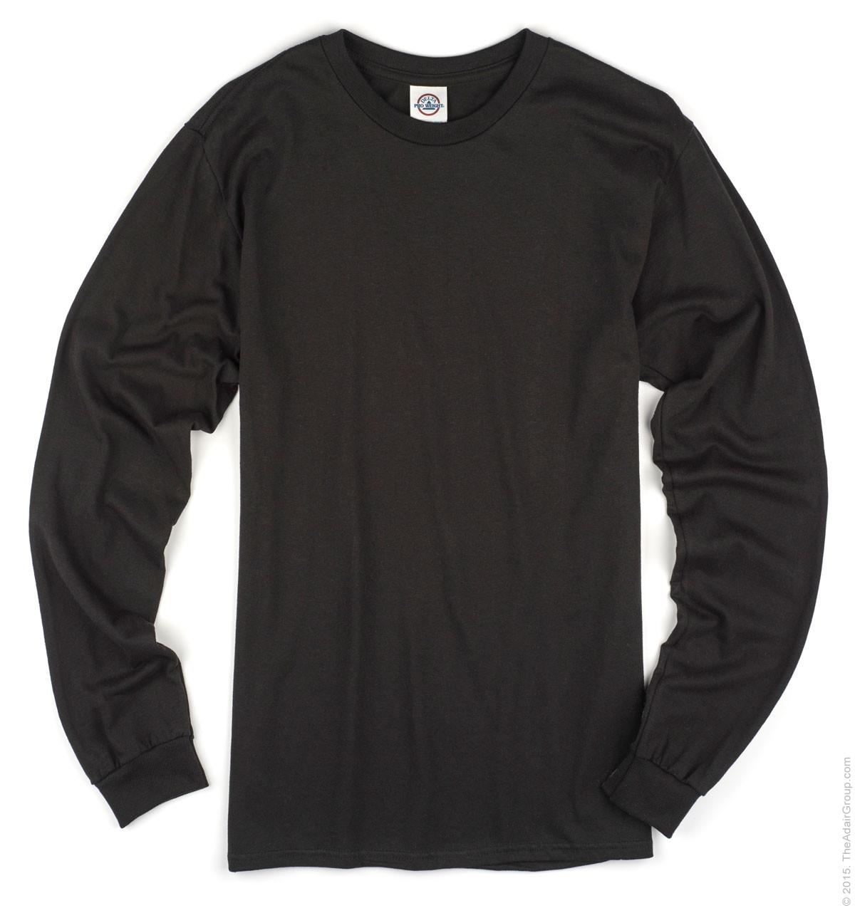 long sleeve t shirts black| adult long sleeve t BLMYQBE
