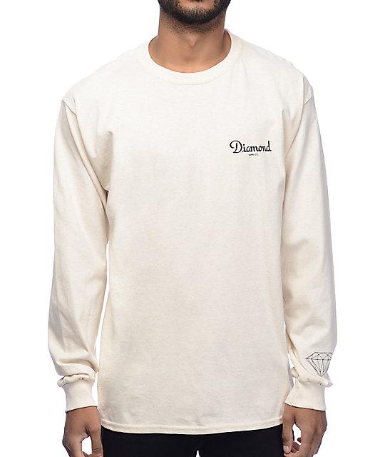 long sleeve t shirts champagne cream long sleeve t-shirt MYITUZX