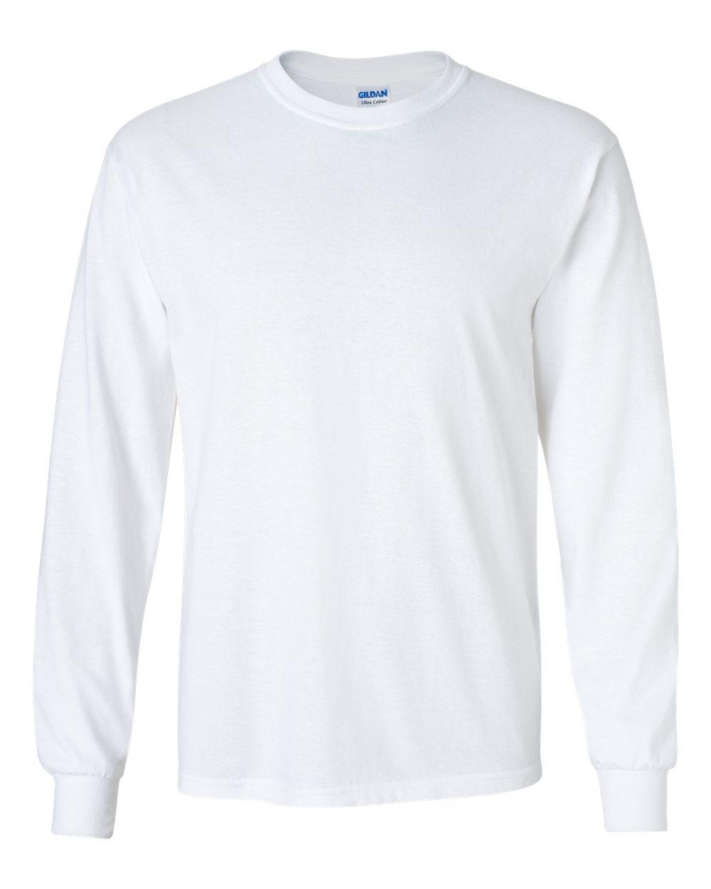 long sleeve t shirts gildan 2400 - ultra cotton™ long sleeve t-shirt | wordans.com DAIAWJV