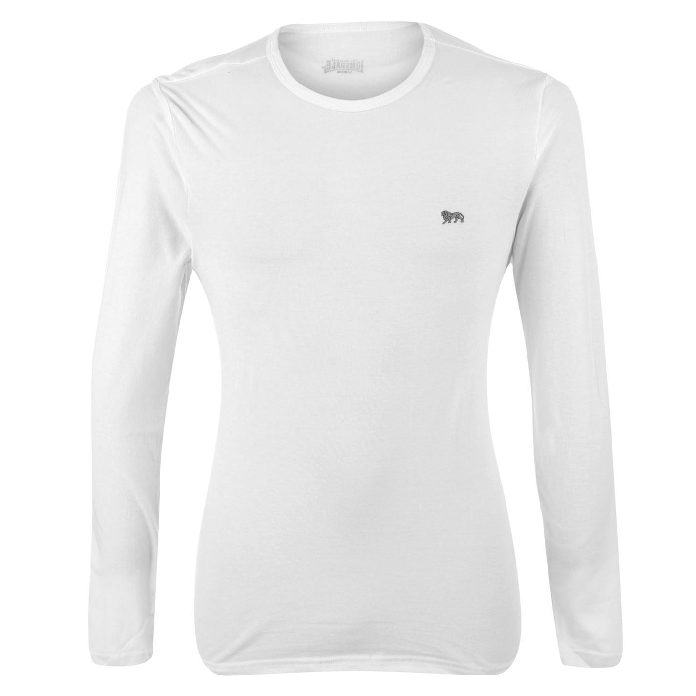 long sleeve t shirts image is loading lonsdale-long-sleeve-t-shirt-mens VWEYQUV