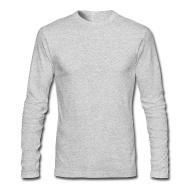 long sleeve t shirts menu0027s long sleeve t-shirt by next level VUVTZQW