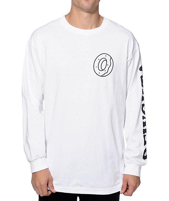 long sleeve t shirts odd future donut ofwgkta long sleeve t-shirt PIDQBZG