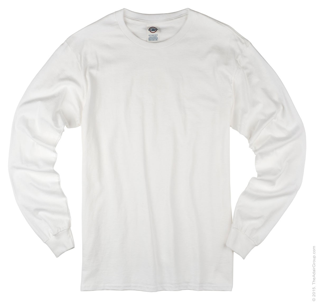 long sleeve t shirts white| adult long sleeve t AWDZVXY