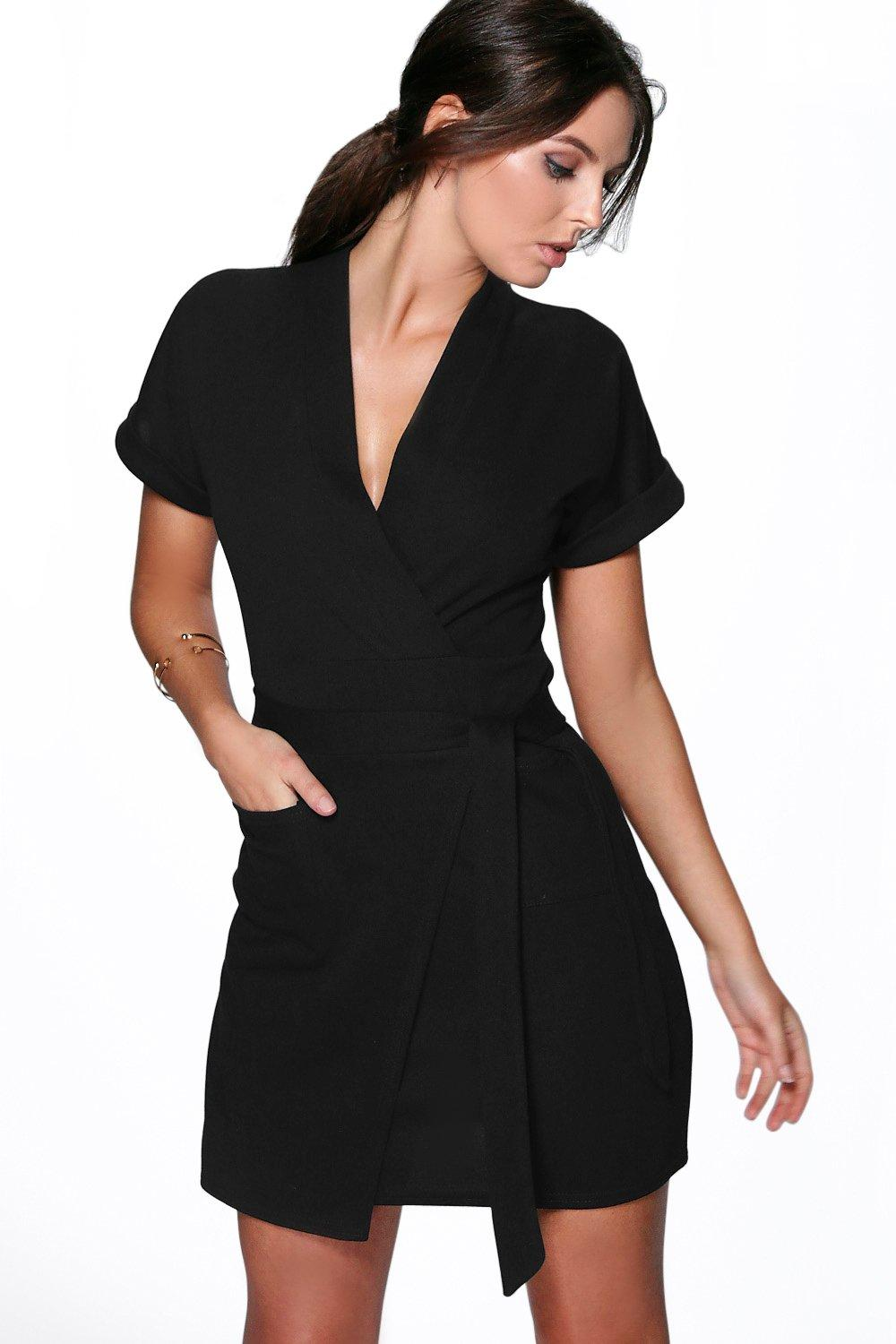 loredana obi tie wrap dress. hover to zoom BIEQEMA