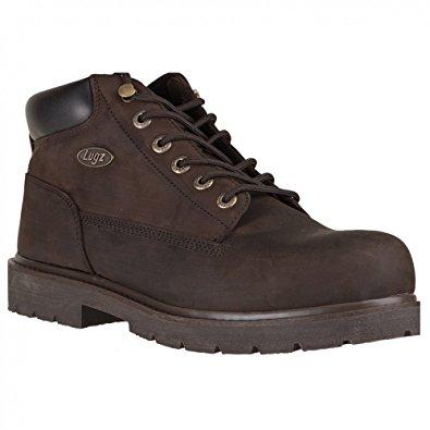 lugz boots lugz menu0027s drifter work boots,brown ... JALXGOF