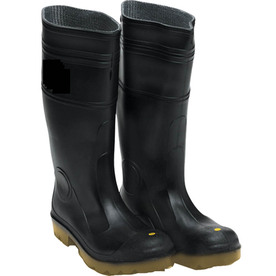marshalltown lined black rubber boots (12) XWSVJHQ