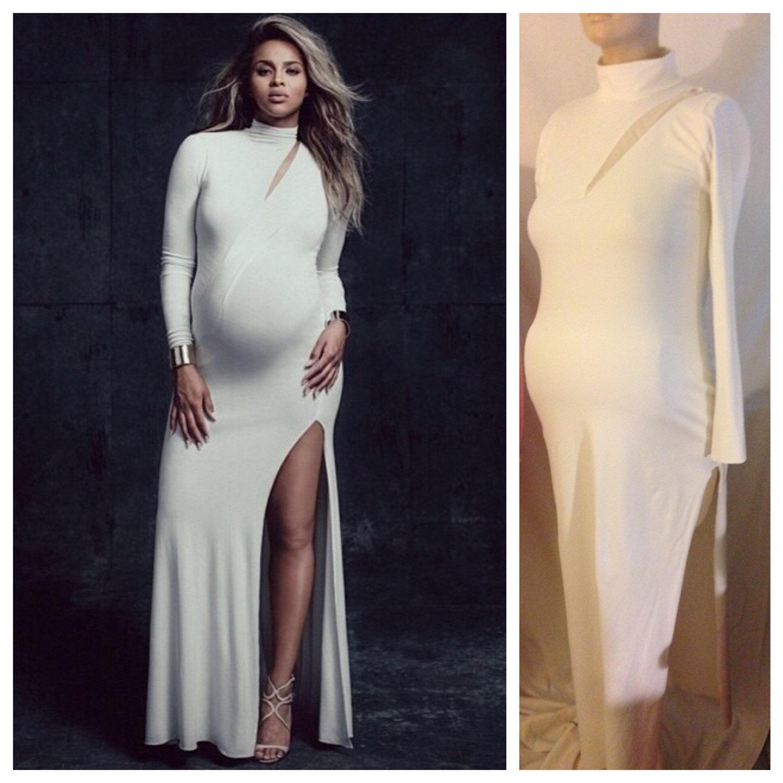 maternity dresses for baby shower hot maternity dress turtle neckline or scoop neckline long with side slit /  babyshower GAZVWDN