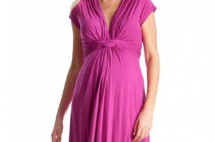 maternity dresses for baby shower pink fuchsia knot front maternity dress pink fuchsia knot front maternity  dress FGCWRNQ