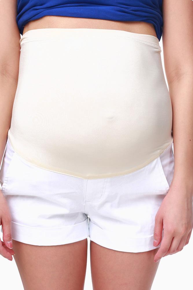 maternity shorts white shorts; white shorts; white shorts; white shorts FMAORLX