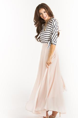maxi skirts amelia full pink maxi skirt SDTAFNO