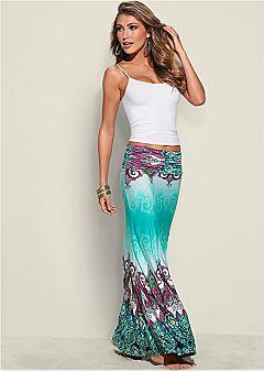 maxi skirts printed maxi skirt $39 $32.99 JMNMLUG