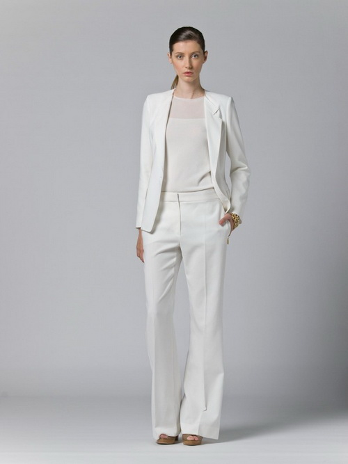 maxmara white pant suit white suits for women NDEXXBV