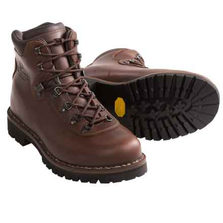 men boots alico summit hiking boots - leather (for men) in brown - closeouts UOSNBFB