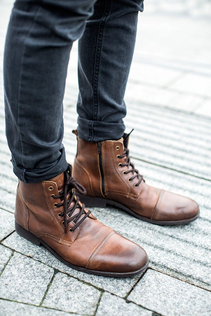 Top 4 men boots types