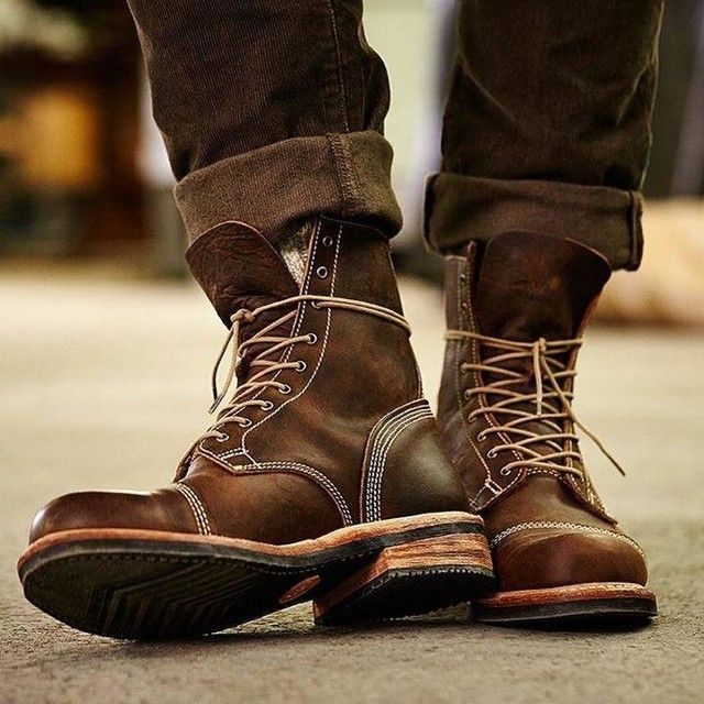 men boots rugged good looks. impeccable quality. the smugglers notch 8-inch cap toe  boots GAGIRVU