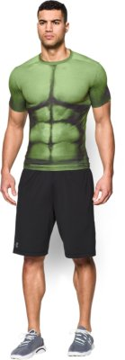 menu0027s under armour® alter ego hulk compression shirt, forest green, zoomed  image YXHCGZI