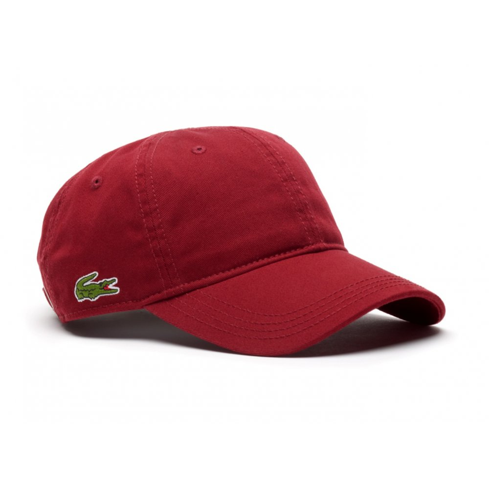 mens caps lacoste-gabardine-cotton-mens-caps-in-various-colours VWFKDGN