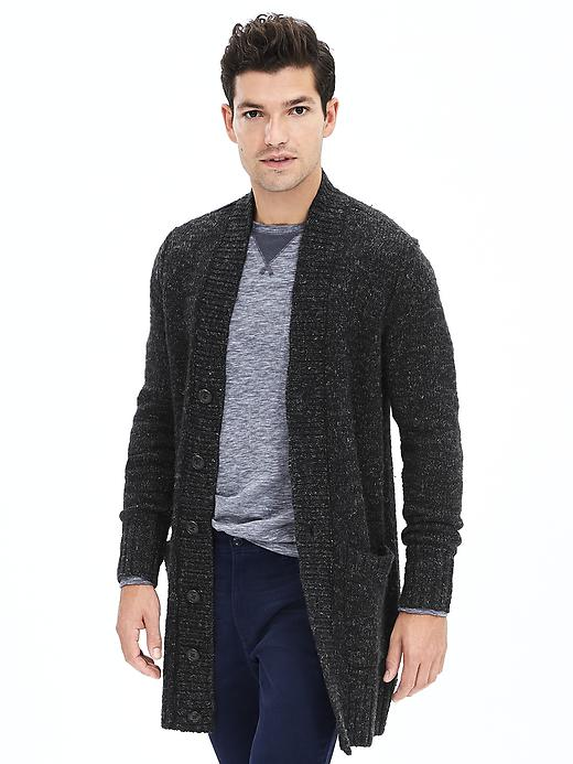 mens cardigans banana republic heritage long cardigan SDYTTRE