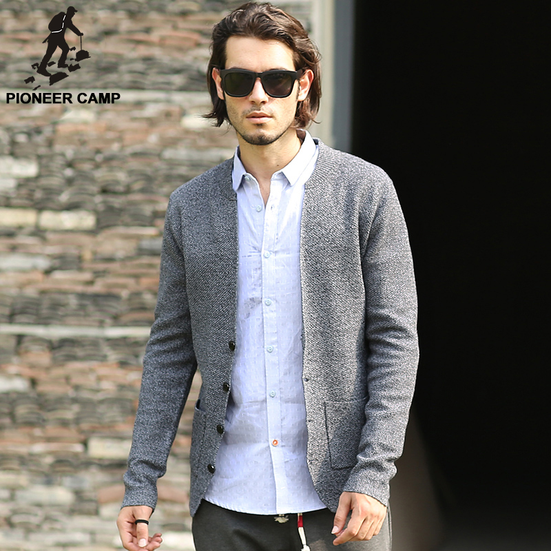 mens cardigans pioneer camp 2017 spring autumn new fashion mens cardigan sweaters casual  coat thin knitwear NRJABSH