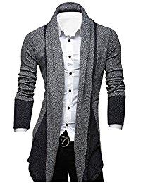 mens cardigans tomu0027s ware mens classic fashion marled open-front shawl collar cardigan PQTSVWM