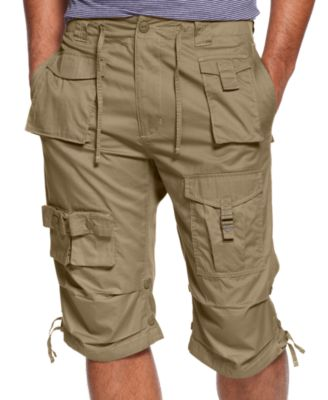 mens cargo shorts sean john menu0027s classic flight cargo 14 UZJHLHO