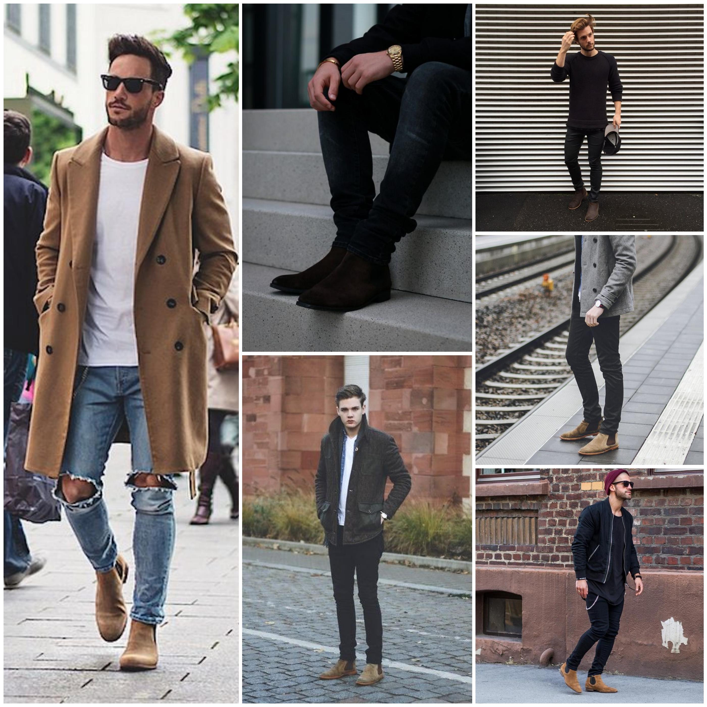 mens chelsea boots inspiration chelsea boots men - justkvn menswear blog ILCJTKL