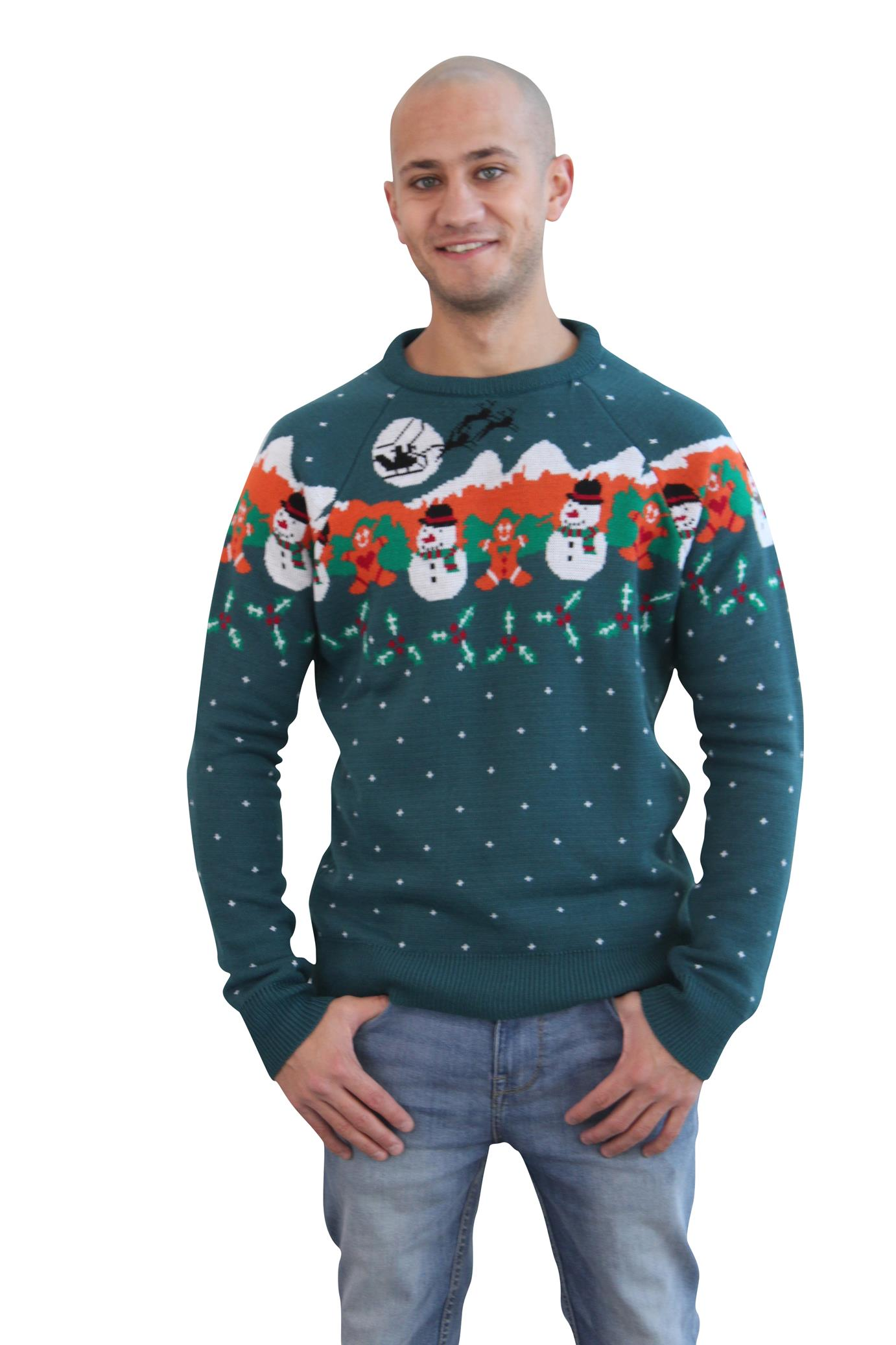 Mens Christmas jumpers a hottest trend