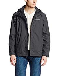 mens coats columbia menu0027s watertight ii front-zip hooded rain jacket ORCGKCL