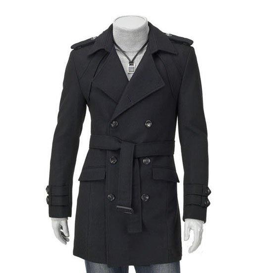 Coats for men in fashion- long coats for men