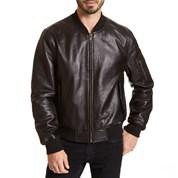 mens coats leather bomber jacket LNOKRCX