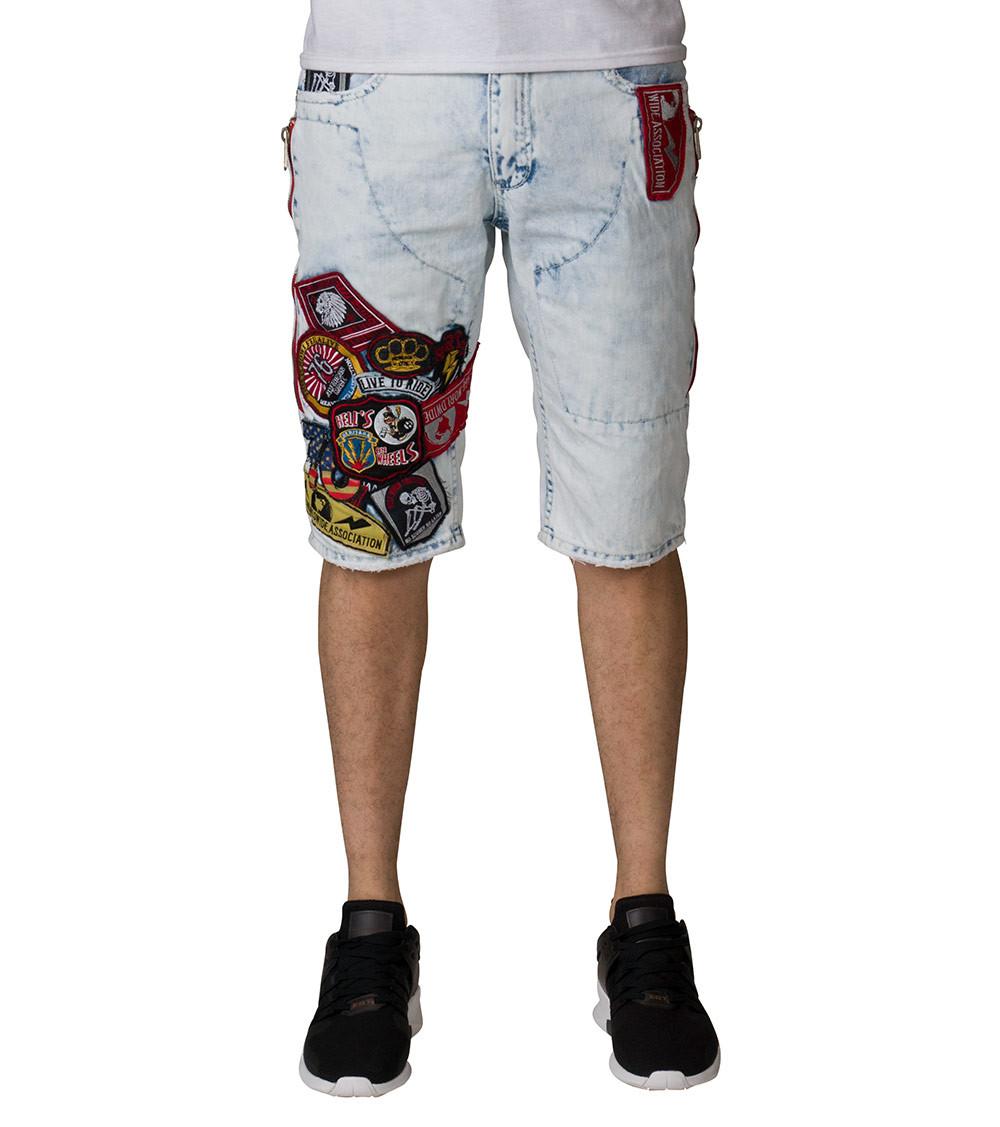 mens denim shorts heritage heritage league series denim shorts KCUMDIT