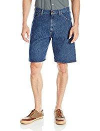 mens denim shorts wrangler authentics menu0027s big u0026 tall denim 5 pocket short RLJLDXI