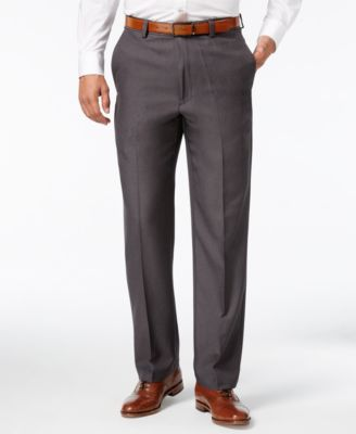 mens dress pants haggar microfiber performance classic-fit dress pants, only at macyu0027s RUJFAJW