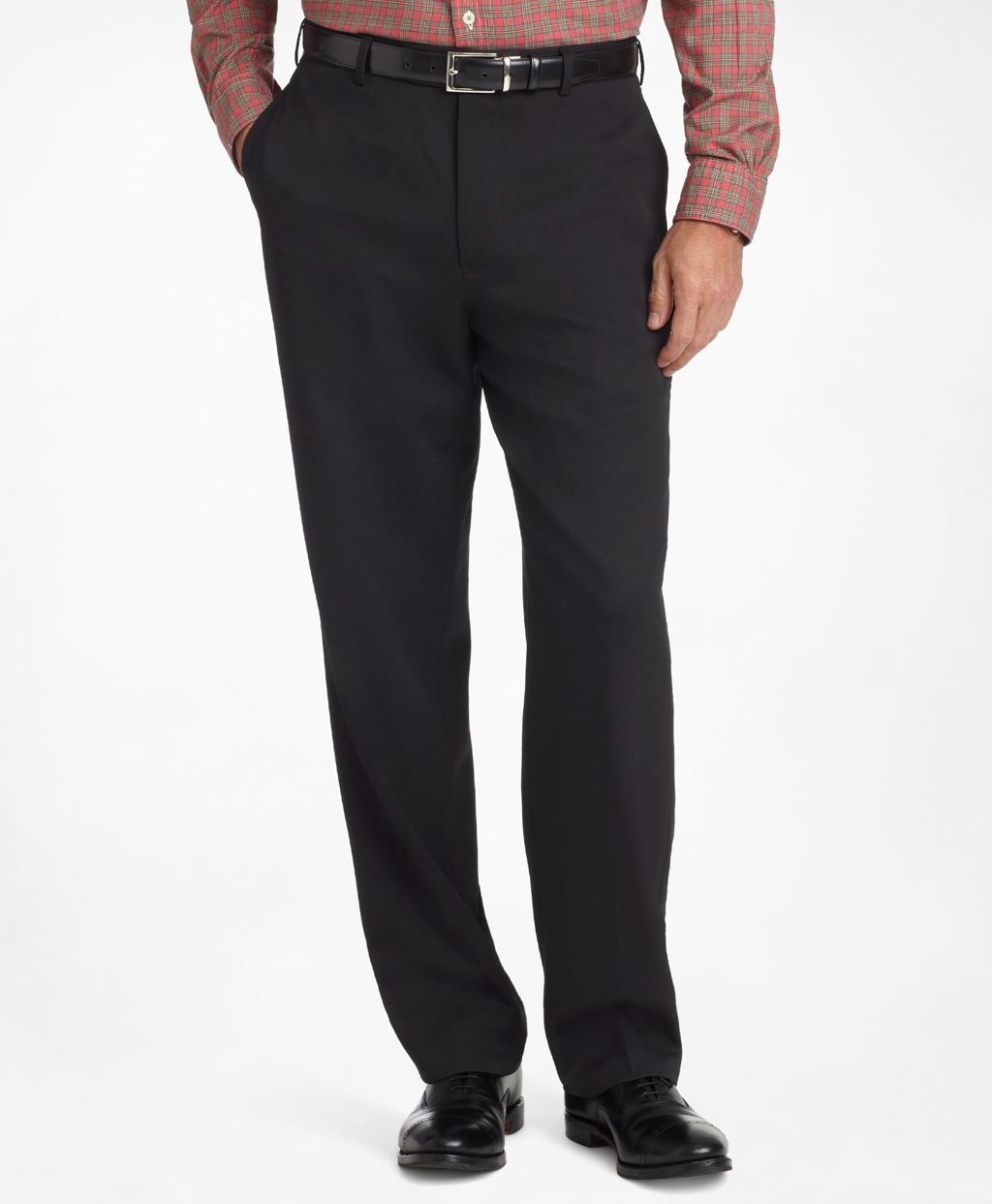 mens dress pants madison fit plain-front classic gabardine trousers YYCQOFI