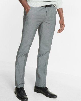 mens dress pants ... skinny innovator gray chambray dress pant DOUPKVZ