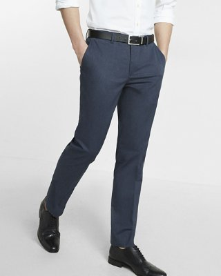 mens dress pants ... skinny innovator heathered stretch dress pant WLBKHXJ