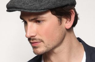 mens flat caps flat cap: this type of headwear first became fashionable in the last  decades of OYHRLSC