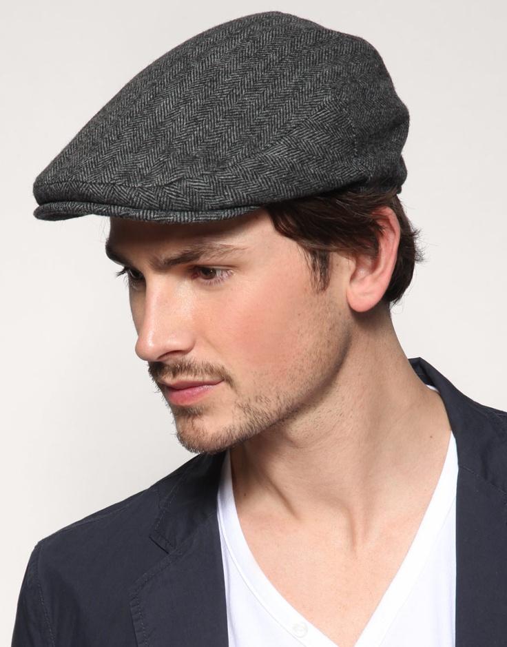 Men's flat caps: always be in style