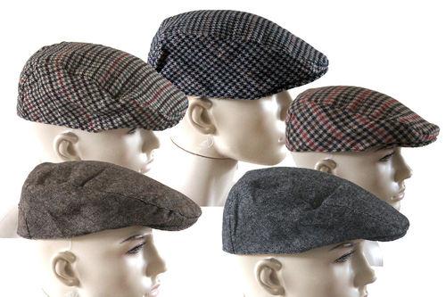 mens flat caps image is loading mens-ladies-herringbone-tweed-flat-cap-adult-womens- XOOOTDC
