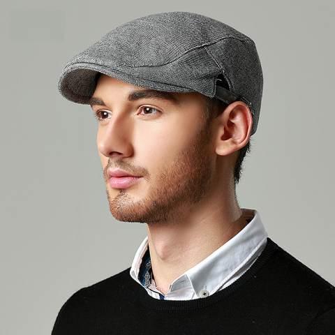 mens flat caps mens flat cap for spring british style TUWVBMZ