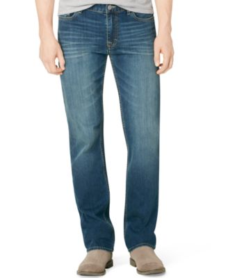 mens jeans calvin klein jeans menu0027s straight fit jeans OLZTJZP
